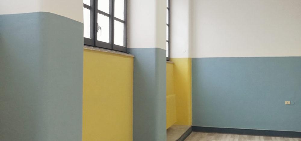 Studio Saponetti, Liceo Virgilio di Roma, Palestra